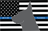 K9 11-99 Foundation Logo